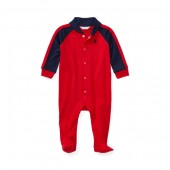 Cotton Jersey Footed Coverall