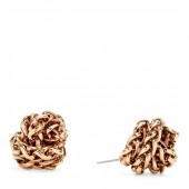 Braided Knot Earrings