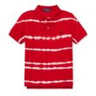 Tie-Dye Cotton Mesh Polo
