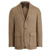 Morgan Tick-Weave Suit Jacket