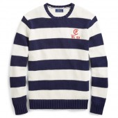 CP-93 Striped Cotton Sweater