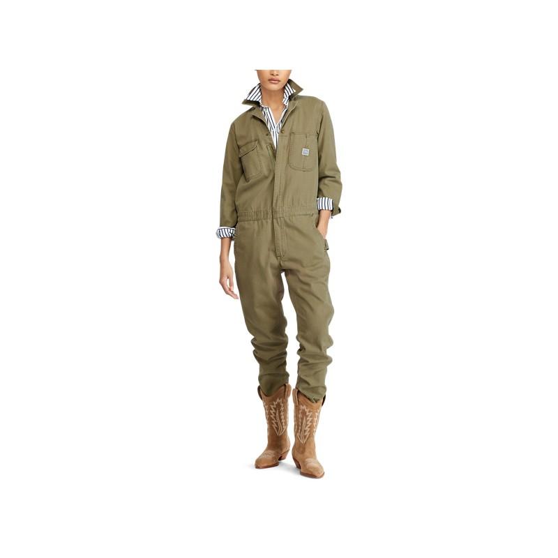 [폴로 랄프로렌] Cotton Herringbone Jumpsuit