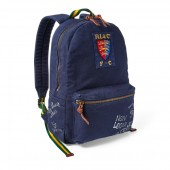 Crested Canvas Backpack
