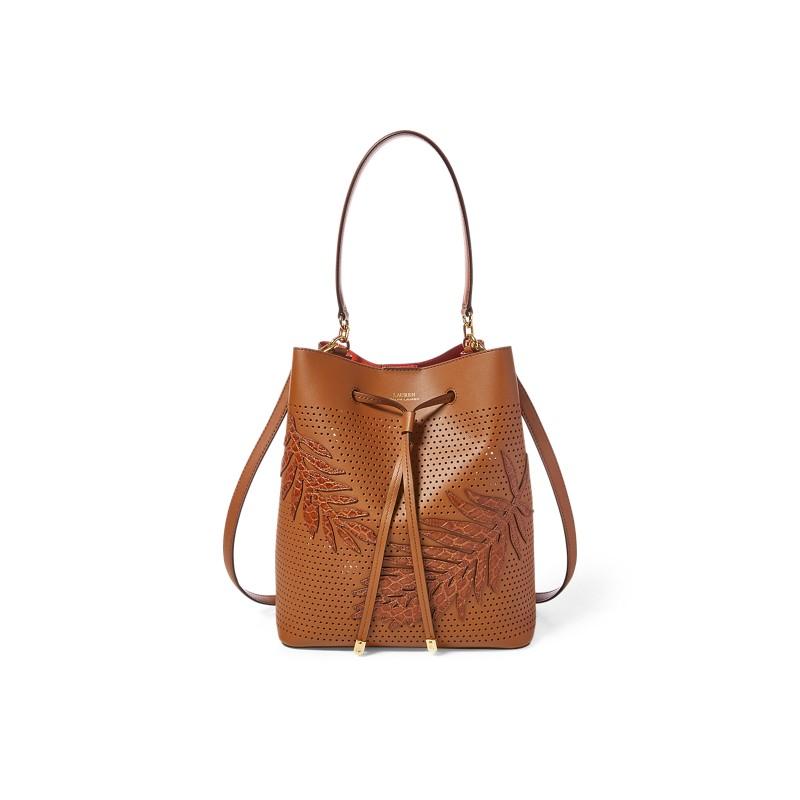 [폴로 랄프로렌] Leaf Debby Drawstring Bag