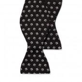 Square Silk Jacquard Bow Tie