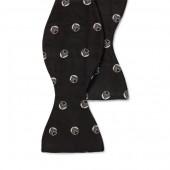 Art Deco Silk Jacquard Bow Tie