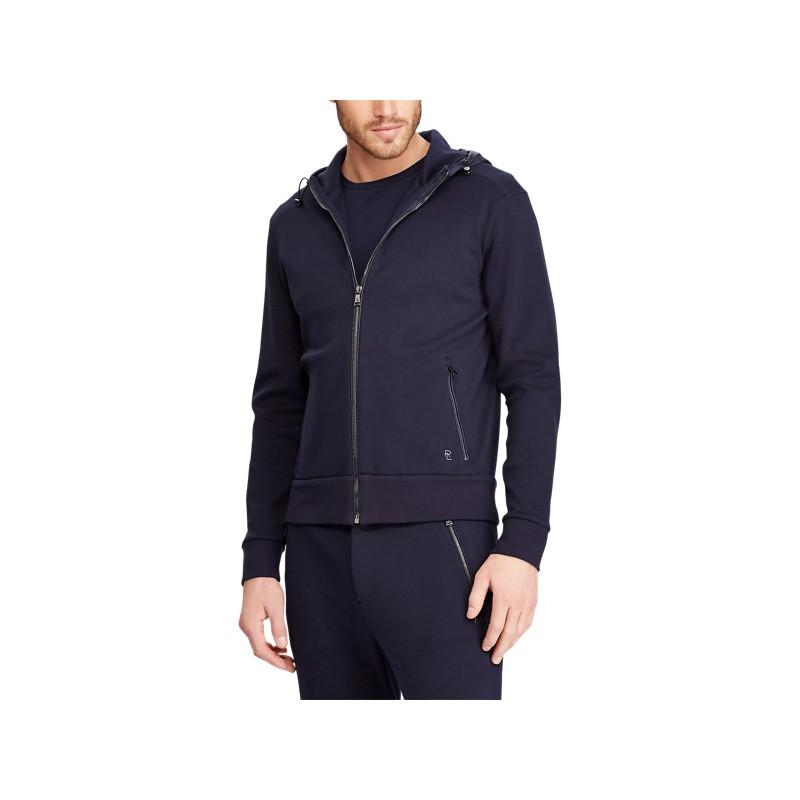 [폴로 랄프로렌] Contrast-Hood Interlock Jacket