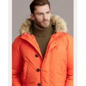 RLX Faux Fur-Trim Down Coat