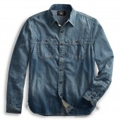 Repaired Denim Workshirt