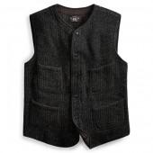 Snap-Front Sweater Vest