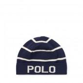 Striped Wool-Cotton Hat