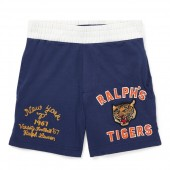 Cotton Jersey Graphic Short