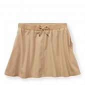 Cotton Chino Skirt