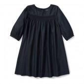 Smocked Denim Dress