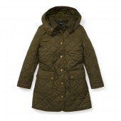Quilted Hooded Barn Jacket