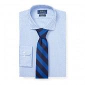 Custom Fit Plaid Shirt