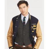 Wool Herringbone Vest