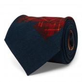 Apr&eacutes-Ski Wool Narrow Tie