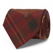 Umbrella Tartan Narrow Tie