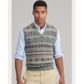 Fair Isle Wool-Blend Vest