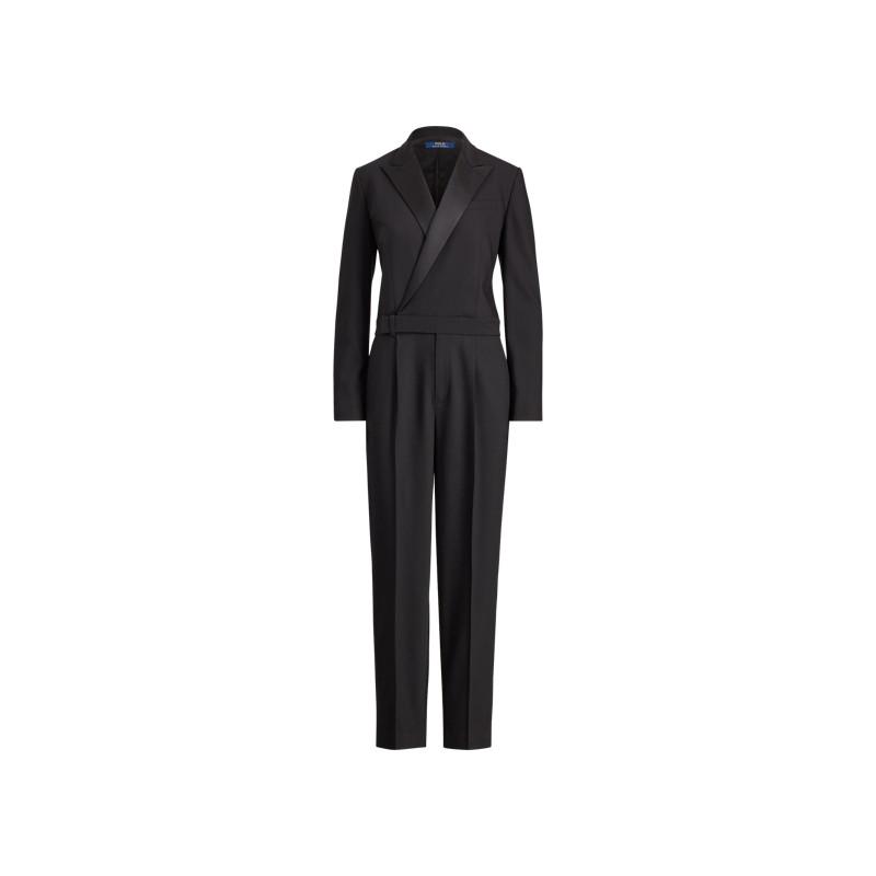 [폴로 랄프로렌] Wool-Blend Tuxedo Jumpsuit