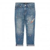 Embroidered Astor Slim Jean