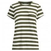 Striped Jersey Pocket T-Shirt