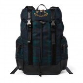 Polo Bear Tartan Backpack