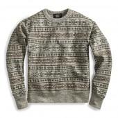 Fair Isle Cotton Pullover