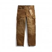 Cotton Canvas Cargo Pant