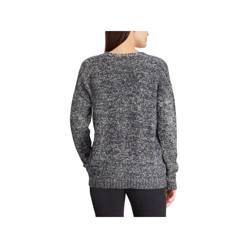[폴로 랄프로렌] Cotton-Blend V-Neck Sweater