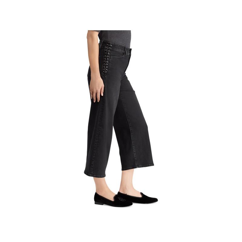 [폴로 랄프로렌] Lace-Up Cropped Flare Jean