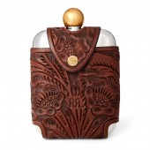 Hip Flask  Leather Case