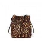Leopard Debby Drawstring Bag
