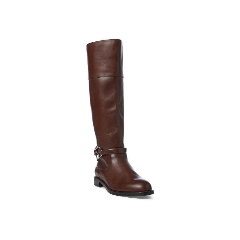 [폴로 랄프로렌] Harlee Leather Boot