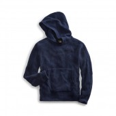 Waffle-Knit Cashmere Hoodie