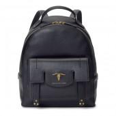 Steer-Head Leather Backpack