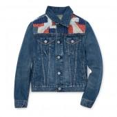 Patchwork Denim Trucker Jacket