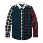 Plaid Cotton Poplin Fun Shirt