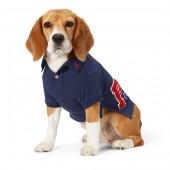 Piqu&eacute Patch Dog Polo Shirt