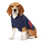 Pique Patch Dog Polo Shirt