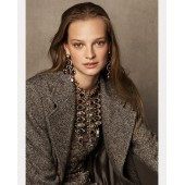 Bernette Donegal Tweed Coat