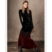 Reiley Velvet Dress
