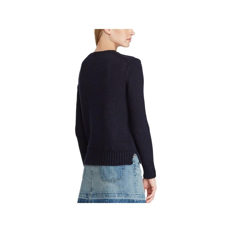 Polo Bear Cotton-Linen Sweater