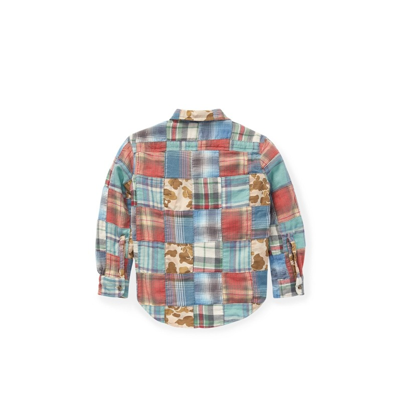 Patchwork Cotton Workshirt