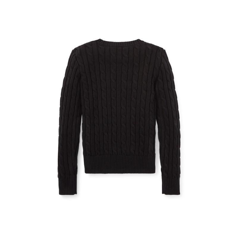 [폴로 랄프로렌] Cable-Knit Cotton Sweater