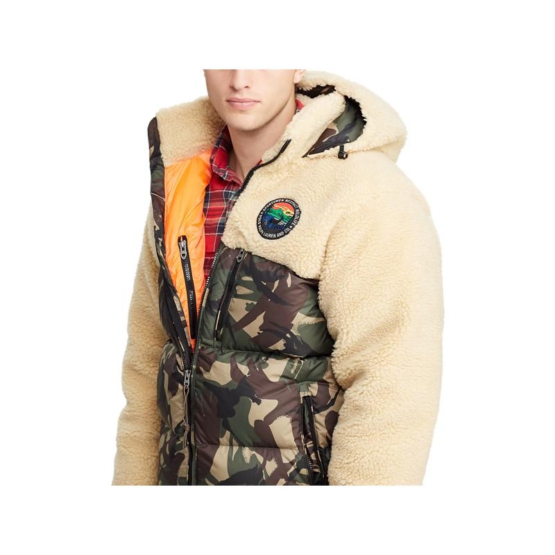 Paneled Down Jacket