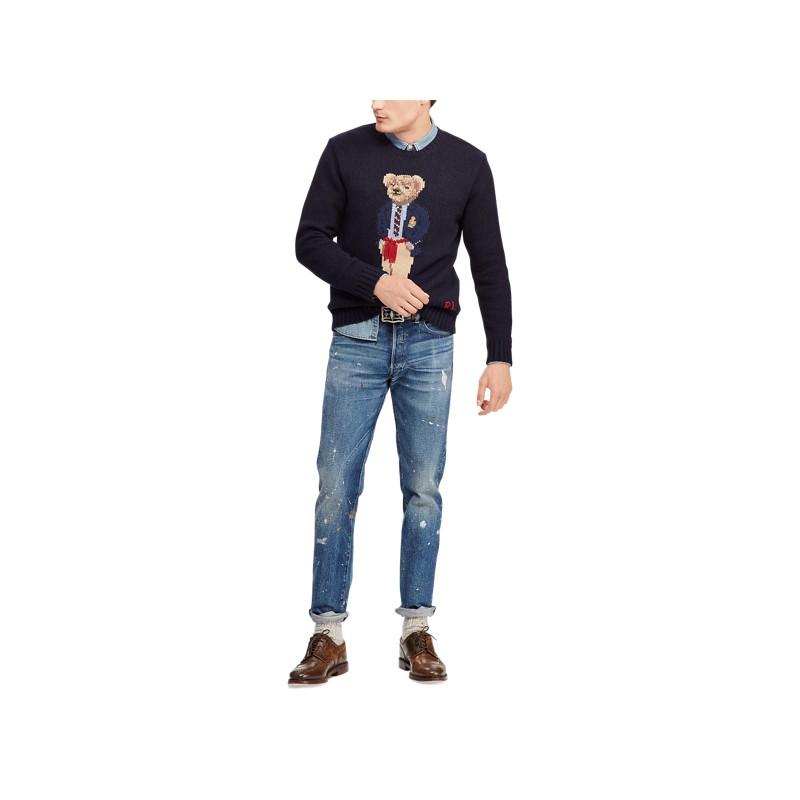 Preppy Bear Sweater