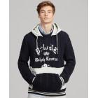 Fleece-Panel Hooded Sweater