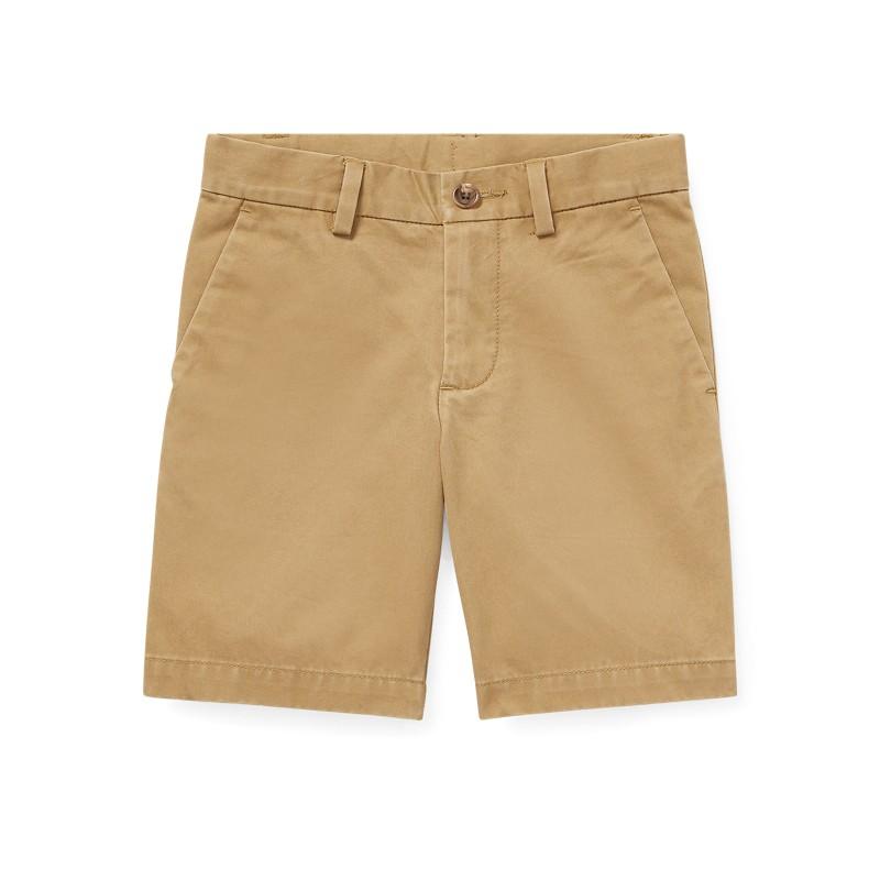 Slim Fit Cotton Chino Short